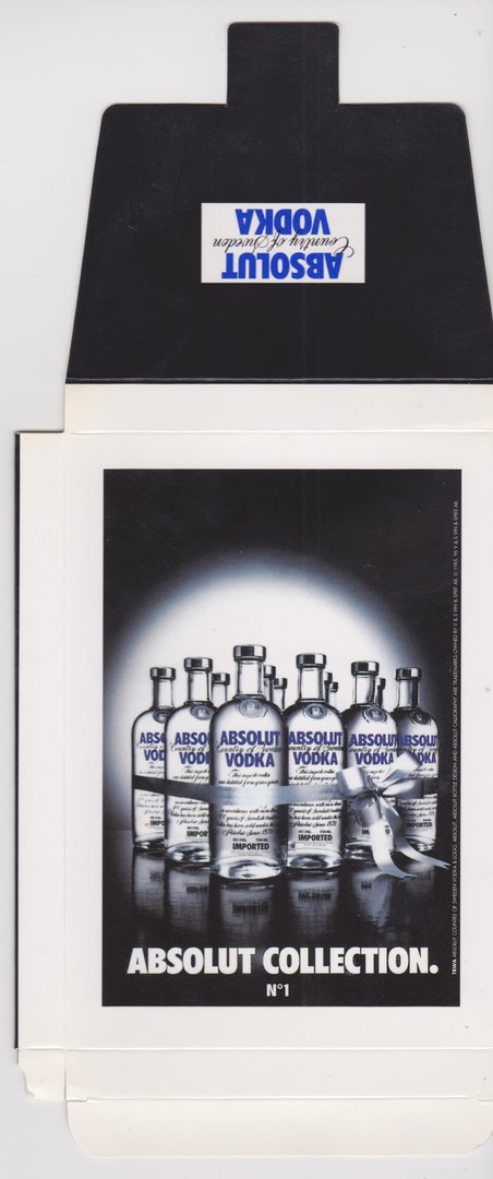 ABSOLUT COLLECTION N° 1 (Postkarten-Faltbox) - Absolut Vodka Sweden - Noname-Editor